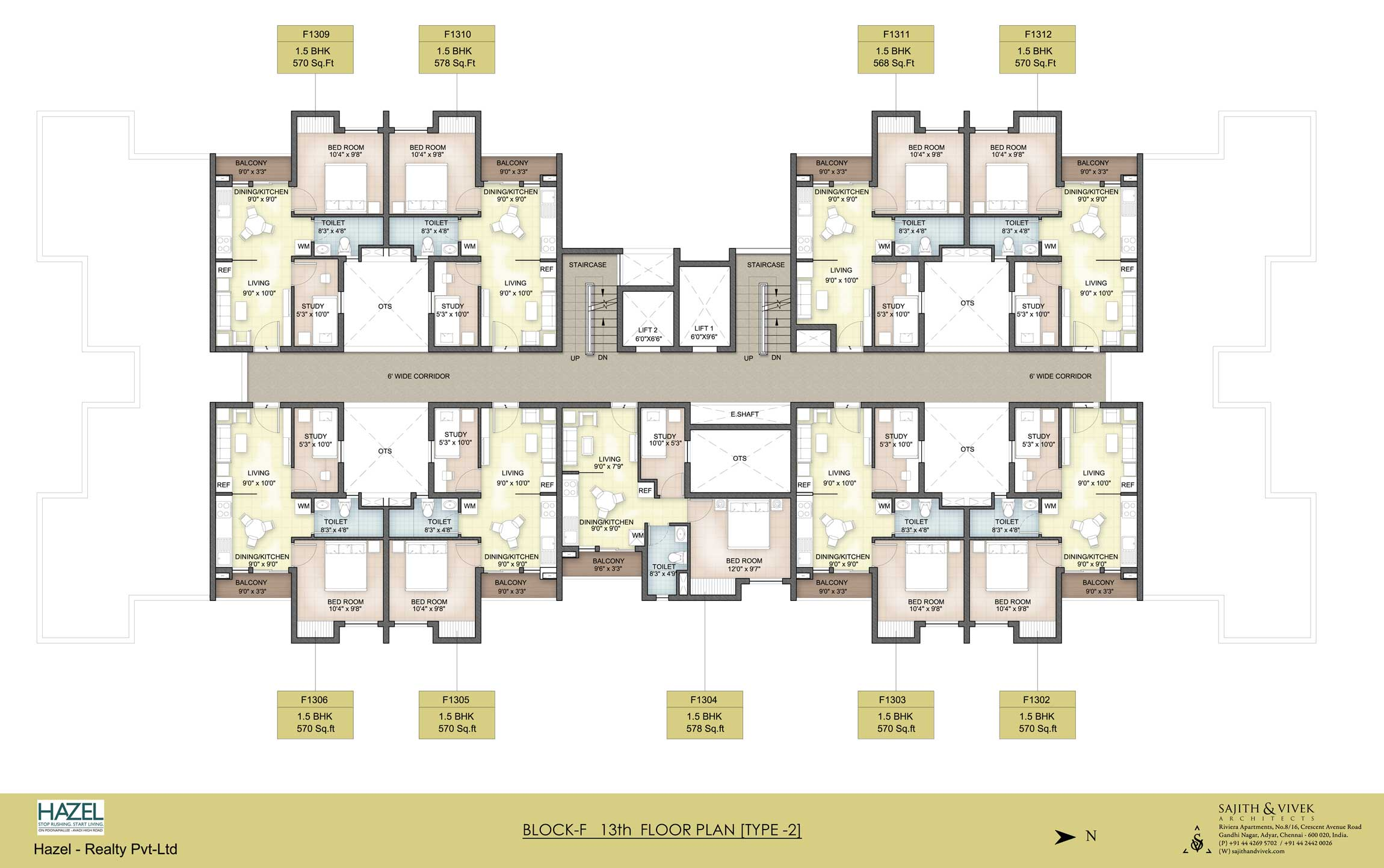 3bhk Floor Plans Apartments In Avadi